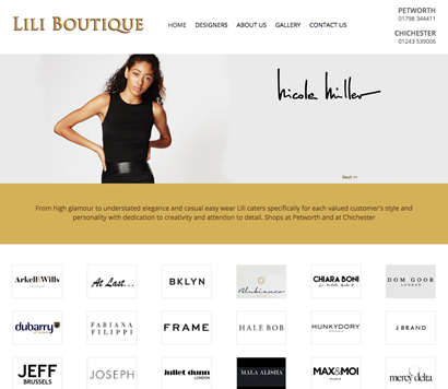 Lili Boutique Goes For A Web Site Refresh