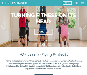 New site for Flying Fantastic